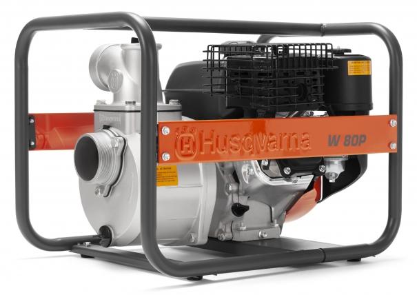 Бензиновая мотопомпа HUSQVARNA W80P, картинка 1