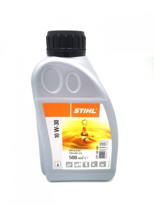 Масло STIHL HD 10W-30 для 4-тактных двигателей 0.5 л