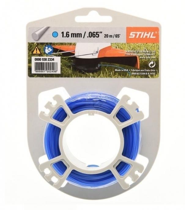 Леска триммерная STIHL круг. сечения 1.6 мм 19 м