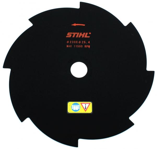 Триммерный диск STIHL 8Z 230 мм 25.4 мм