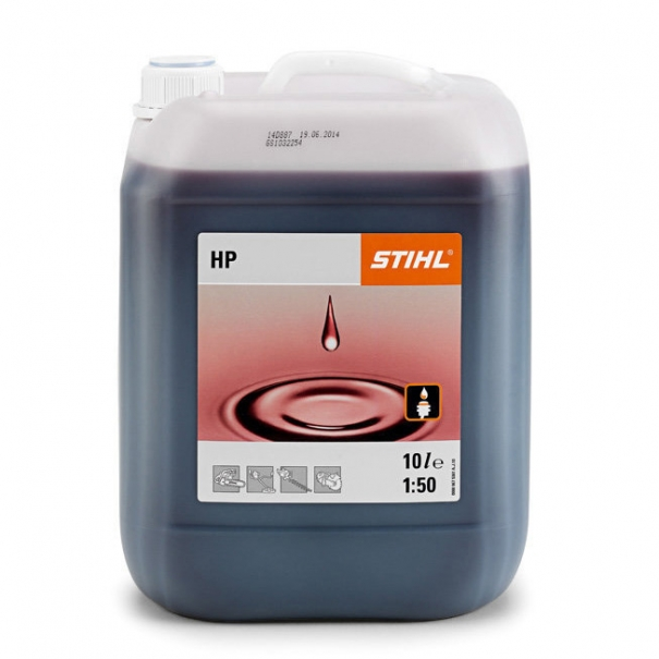 Масло STIHL HP для 2-тактных двигателей 10.0 л