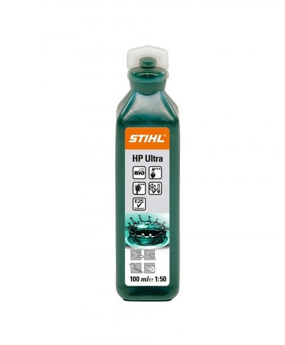 Масло STIHL HP ULTRA для 2-тактных двигателей 0.1 л.
