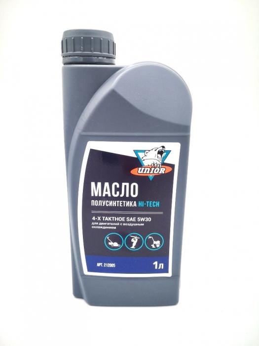 Масло UNIOR HT 5W30 полусинт. для 4-тактных двигателей 1.0 л